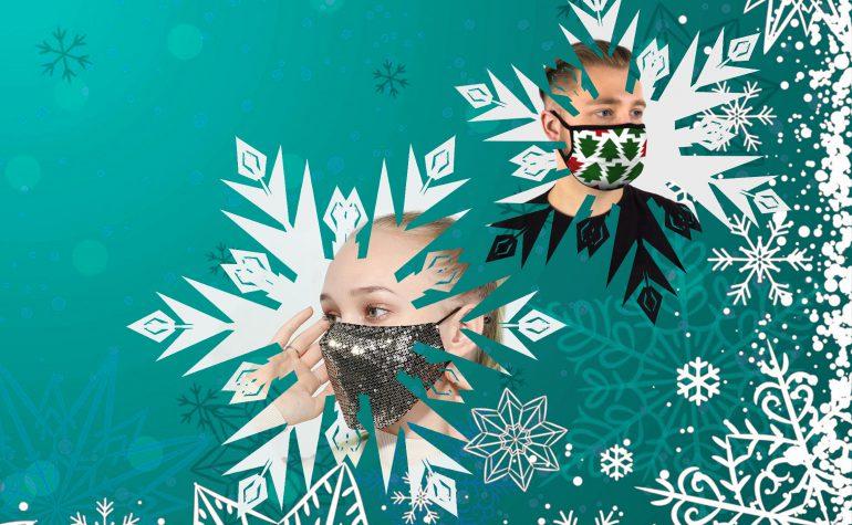 Творческий виртуальный конкурс самодельной защитной маски «Новогодняя маска от-кутюр»